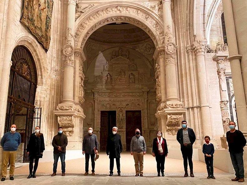 Integrantes del Áula de Órgano de la Catedral de Cuenca, 2020